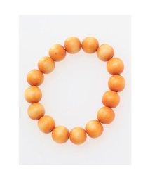 CAYHANE/【チャイハネ】チャクラウッディブレスレット12mm玉 オレンジ/503317372