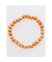 CAYHANE/【チャイハネ】チャクラウッディブレスレット6mm玉 オレンジ/503317387