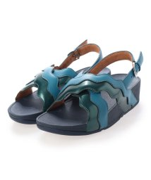 FITFLOP/フィットフロップ fitflop RHYLEE WAVE STRAP BACK-STRAP SANDALS (Sea Blue)/503318657