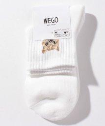 WEGO/WEGO/アンクルパイルcatソックス/503044477