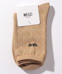 WEGO/WEGO/nove刺繍ハートソックス/503062104