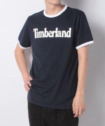Timberland/【Men】SS Linear Logo Tee Dark Sapphi,FQ/503249270