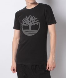 Timberland/【Men】SS Large Silcone Tree Tee Blac,FQ/503249271
