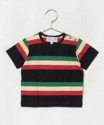agnes b. ENFANT/【セットアップ対応商品】JDJ4 L TS ベビー マルチボーダーTシャツ/503289849