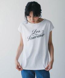 Bou Jeloud/SWEATRESS FREE空紡糸ロゴプリントTシャツ/503295776