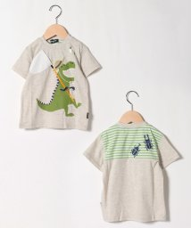 kladskap/接触冷感 虫取りザウルスTシャツ/503303943