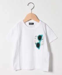 kladskap/胸ポケットサングラスTシャツ/503303946
