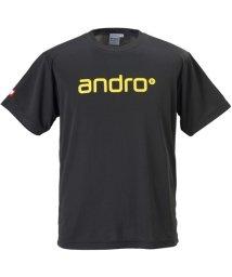 andro/ANDRO ナパTシャツ IV  BLK/YEL/503306219