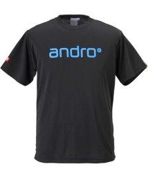 andro/ANDRO ナパTシャツ IV  BLK/BLU/503306220
