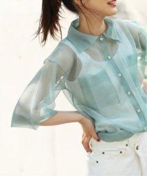 FRAMEWORK/【Suoli】シースルーニットシャツ◆/503319935