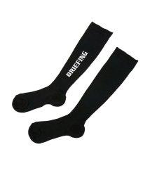 BRIEFING GOLF/【日本正規品】ブリーフィング ゴルフ ハイソックス BRIEFING GOLF 靴下 WOMENS LOGO HIGH SOCKS 靴下 BRG193W29/503320388