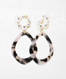 le.coeur blanc OUTLET/螺旋パールピアス/503321482