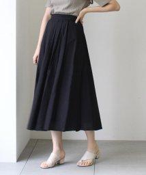 UNRELISH/タックフレアギャザースカート/503274921