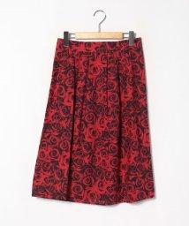 agnes b. FEMME/IE89 JUPE ローズプリントスカート/503289901