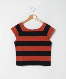 agnes b. FEMME/J019 TS ボーダーTシャツ/503289961