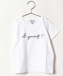 agnes b. ENFANT/SCX9 E TS キッズ メッセージTシャツ/503291348