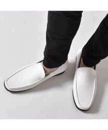 SVEC/ローファー バンプローファー スリッポン メンズシューズ 靴 くつ PUレザー 紳士靴 ブラック 黒 ブラウン 茶 ブラックグレインブラウングレイン ホワイトグ/503300252