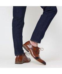 SVEC/カジュアルシューズ メンズ レースアップシューズ 革靴 紳士靴 結婚式 新郎 フォーマル ブラウン 茶 ネイビー 紺 ロングノーズ ビジネスシューズ 人気 おし/503300256