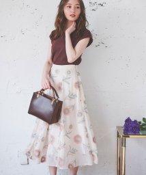 Noela/3D刺繍スカート /503320102