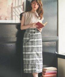 Noela/キルティングタイトスカート /503320103