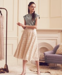 Noela/パンチングレザースカート /503320104