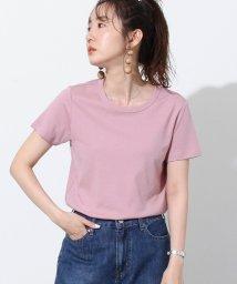 coen/接触冷感シンプルクルーネックTシャツ/503322014