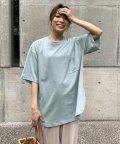 LIPSTAR/【WEB別注】ポケット付きオーバーTシャツ/503322044