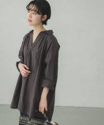 KAGURE/グランパシャツチュニック/503322458