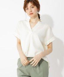 grove/麻調スキッパーBIGシャツ/503322473