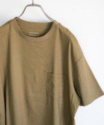 URBAN RESEARCH DOORS/ストレッチリネンクルーネックTシャツ/503322536