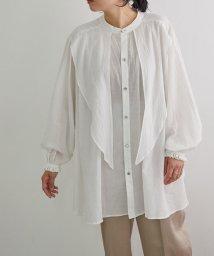 ROPE' mademoiselle/【near nippon】ナチュラル BOIL フリルボリュームシャツ/503323778