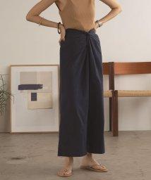 marjour/FRONT TWIST PANTS/503324187