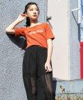 ZIDDY/ワンショルランダムテレコTシャツ/503049583