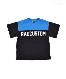 RAD CUSTOM/TC天竺フットボールTシャツ/503049612