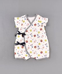 e-baby/ガーゼ半袖ロンパース/503169709