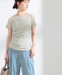 Ray BEAMS/Ray BEAMS / サイド ドロスト ギャザー Tシャツ/503194431