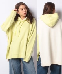 LEVI'S LADY/LMC OVERSZD HOODIE LMC PALE LIME YELLOW/503291715