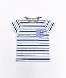 SLAP SLIP/マルチボーダー 天竺 ポケット 配色 Tシャツ/503319528