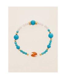 CAYHANE/【チャイハネ】天珠×天然石ブレスレット ターコイズブルー/503320802