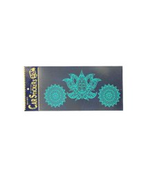 CAYHANE/【チャイハネ】耐水・耐熱 カーステッカー ロータス ターコイズブルー/503321007