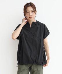 LASUD/[YORT] 【手洗い可】半袖パーカーブルゾン/503322340