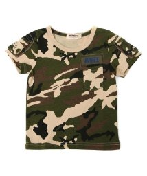 AVIREX/キッズ 迷彩 ファティーグTシャツ/KIDS FATIGUE T-SHIRT/503324364