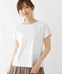 SHOO・LA・RUE Cutie Blonde/【M-L】バックレース切り替えTシャツ/503325535