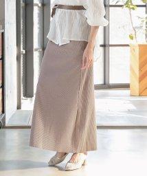 KOBE LETTUCE/カットできるリブワイドパンツ/スカート 【スカートType】[M2908]/503325604