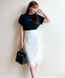 KOBE LETTUCE/[岡部あゆみさんコラボ]レースタイトスカート 【M】[M2915]/503325606
