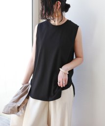 and Me.../ノースリーブ裾ラウンドTシャツ/503326091