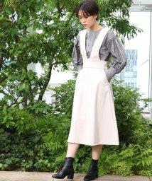 AG by aquagirl/エコレザーAラインジャンパースカート/503326321