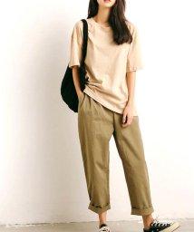 ARGO TOKYO/【ME LOVE】レディースファッション/ベーシックコットンTシャツ/503326628