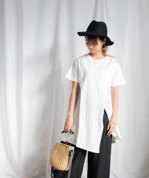 ARGO TOKYO/Organic cotton Asymmetry T-shirt 24152/503326630