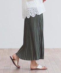 GROWINGRICH/[スカート]シルキーサテンプリーツスカート[200337]/503326789